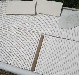 Vloertegels op kleur - Marmer Composiet
