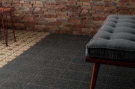 Wandtegels Industrieel Look - Cementine Retro Nero
