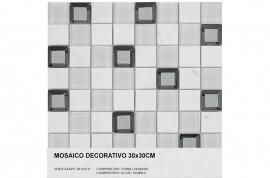 Keramische Mozaiek - Keops Blanco