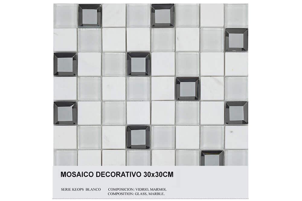 Mozaïek tegels - Keops Blanco