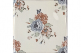 Tegels licht - Toile Decor Flor Blanco 2 (15x15)