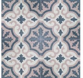 Portugese cementtegels vloer - Eindhoven Light