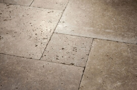 Travertin vloertegels - Aspendos Brown Anticato