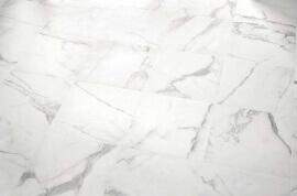 Wandtegels Marmer Look - Bianco d'Italia Arabescato - Semi gepolijst