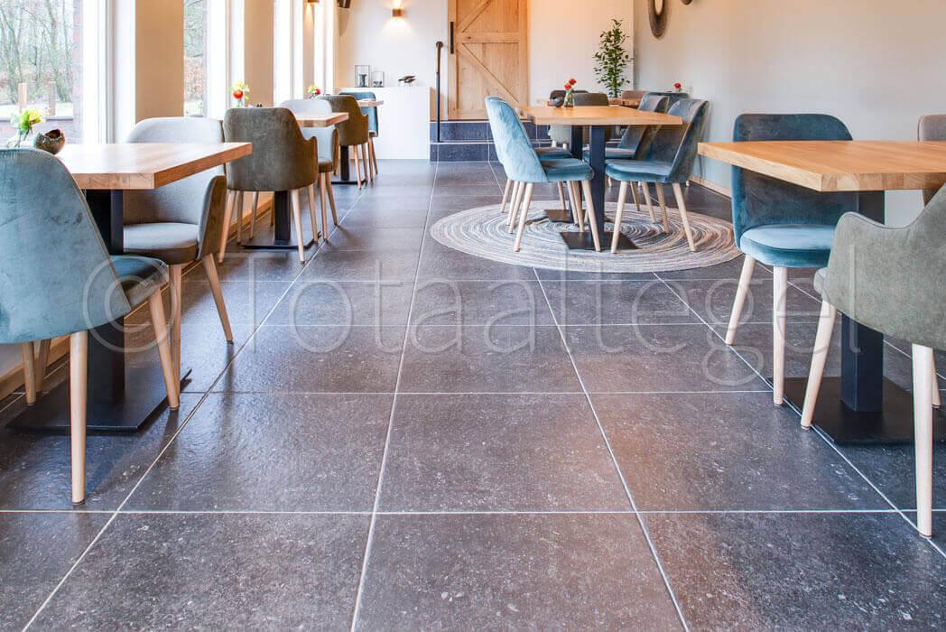 Vloertegels betonlook 60x60 cm - Storm Black
