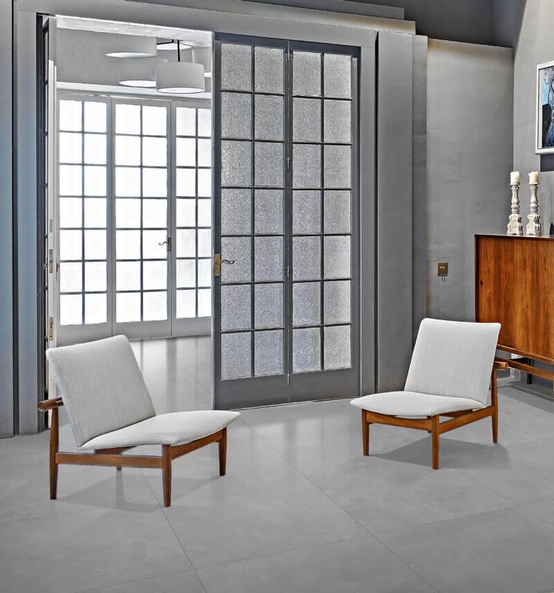 Vloertegels betonlook 30x60 cm - Blake Grigio