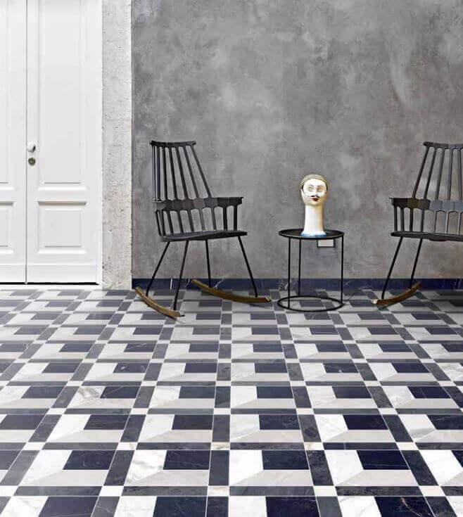Tegels 30x30 - Byron Mosaico E-3D