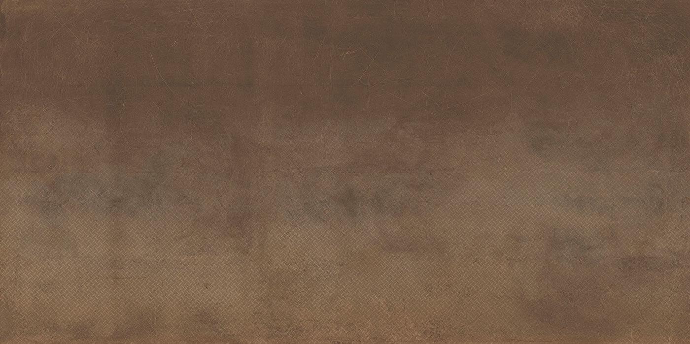 Bruine terrastegels - Cast Corten Grid (Buiten)