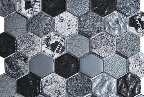 Keramische Mozaiek - Nomad Black