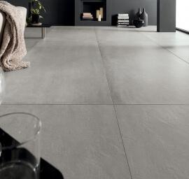 Vloertegels betonlook 60x120 cm - Prima Materia Cemento