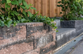 Tuin & bestrating - Wallblock Split Brons