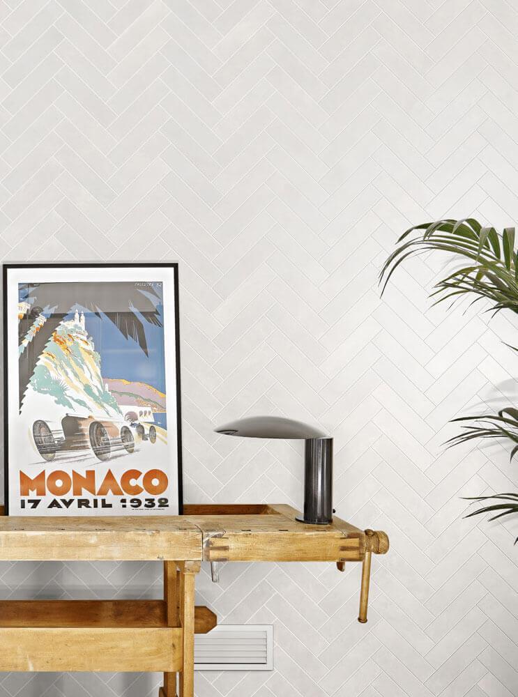 Vloertegels betonlook 30x60 cm - Blake Bianco