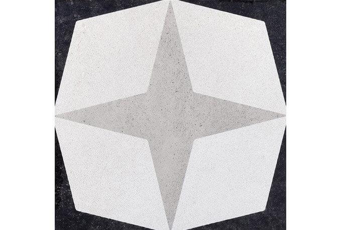 Portugese keramische wandtegels - Cementine Black&White 1