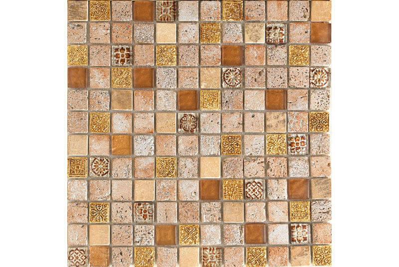 Glas Mozaiek - Imperium Gold