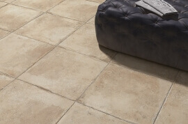 Terrastegels Travertin Look - Naxos Esedra Delfi