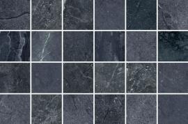 Antraciet vloertegels - Byron Alpi mozaïek