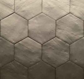 Vintage wandtegels - Hexa Off Graphite - Mat