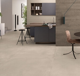 Vloertegels betonlook 90x90 cm - Tr3nd Concrete Sand