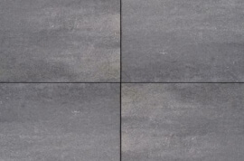 Betontegels 30x20 - Design Square Nero / Grey Emotion - Glad