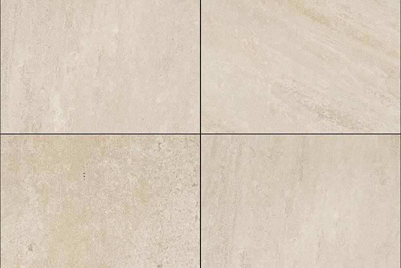 Terrastegels Travertin Look - Quartz Yellow