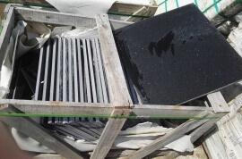 Outlet vloertegels - Quartz Composiet Zwart - Restpartij