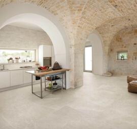 Wandtegels Kalksteen Look - Eureka Sabbia