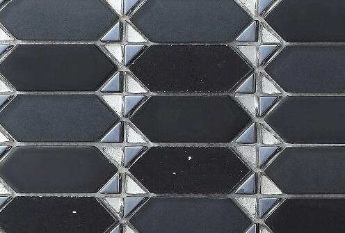 Keramische Mozaiek - Classic Black