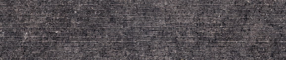 Antraciet wandtegels - Unique Bleu Anthracite Roullée - Naturale