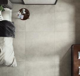 Vloertegels betonlook 60x120 cm - Grunge Cloud