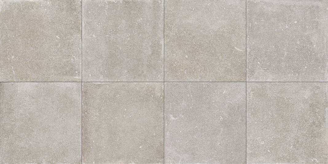 Terrastegels 100x100 - Evolution du Kronos Évo Greyge (Buiten)