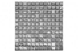 Glas Mozaiek - Kroma Silver