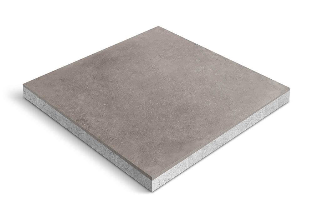 Keramiek op beton - CeraDeco Belga Titanio