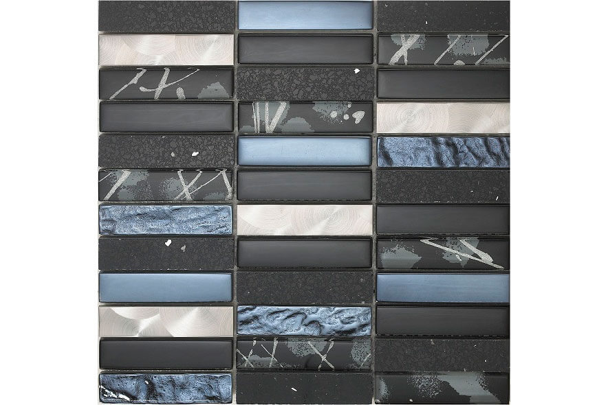 Glas Mozaiek - Artist Black