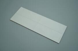 Wandtegels 30x90 - Chalk 1 White - Mat