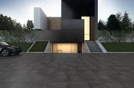 Keramiek op beton - CeraDeco Cemento Black