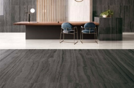 Wandtegels 90x180 - Via Appia Vein Cut Dark Krystal