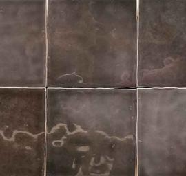 Wandtegels 10x10 - Triana Negro