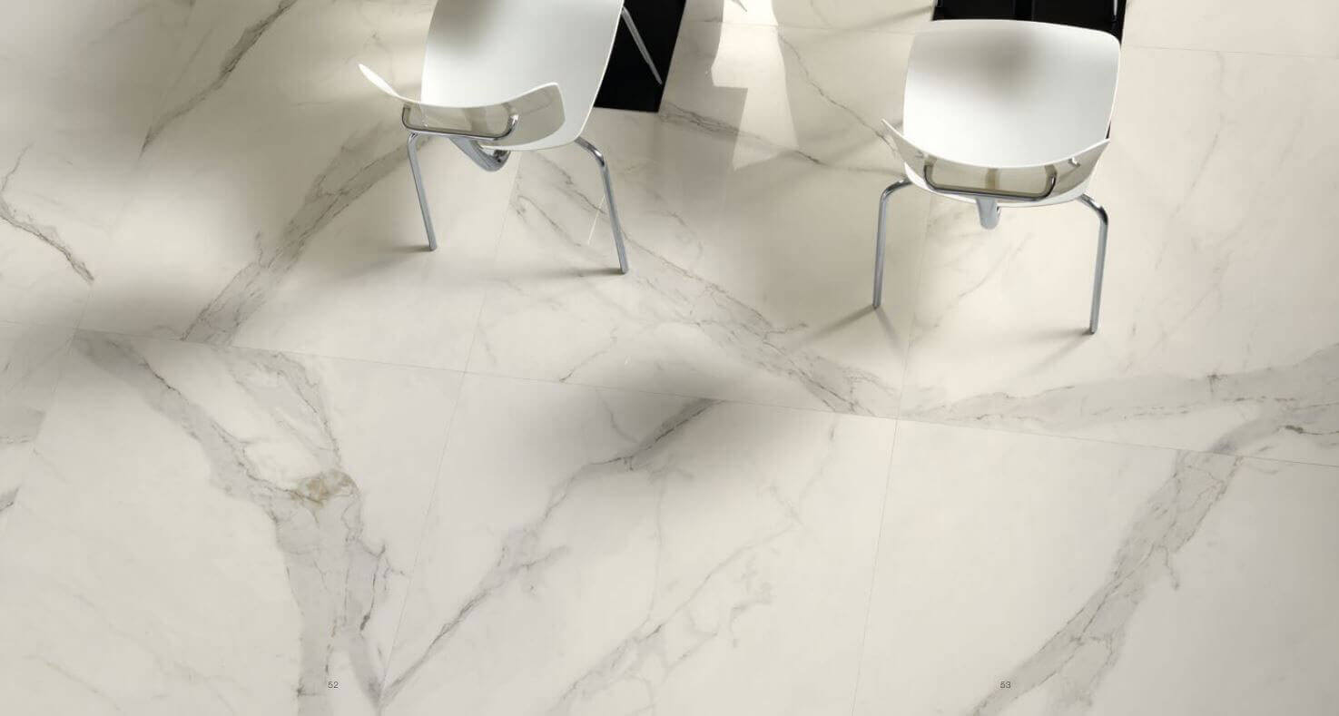 Tegels 100x100 - To Be Marble Statuario - Lux