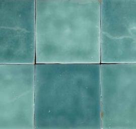 Wandtegels 10x10 - Triana Turques