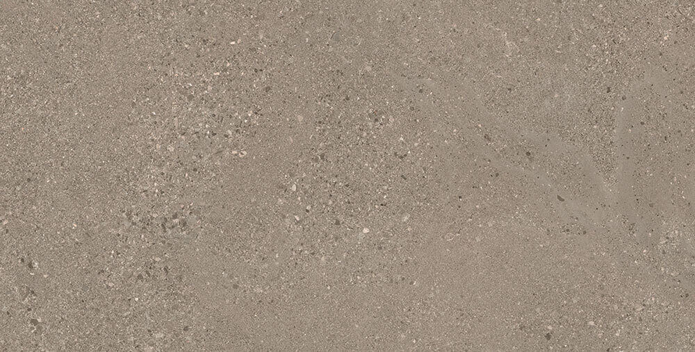 Taupe wandtegels - Grainstone Rough Taupe - Grip
