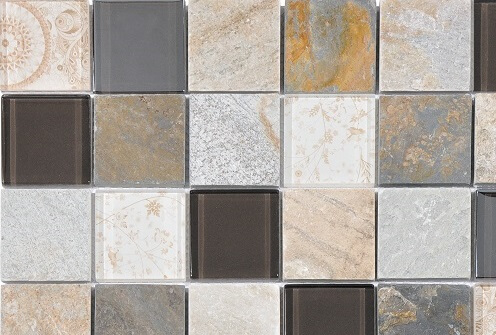 Mozaiek wandtegels - Barok Sand