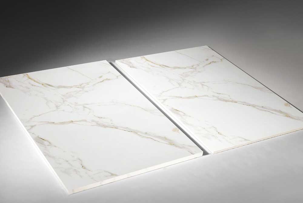 Witte vloertegels - Kera Calacatta Gold - Gepolijst