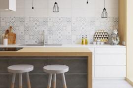 Industrieel Keuken Tegels : Portugese tegels keuken v a u ac p m totaaltegel