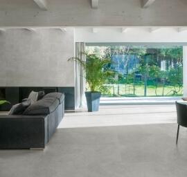 Wandtegels Kalksteen Look - Eureka Grigio