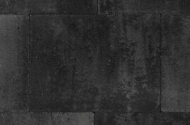 Betontegels 40x30 - Straksteen Grijs / Zwart