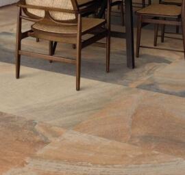Bruine terrastegels - Cornerstone Slate Multicolor (Buiten)