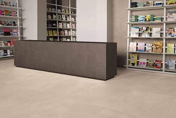 Vloertegels 90x180 - Tr3nd Concrete Sand