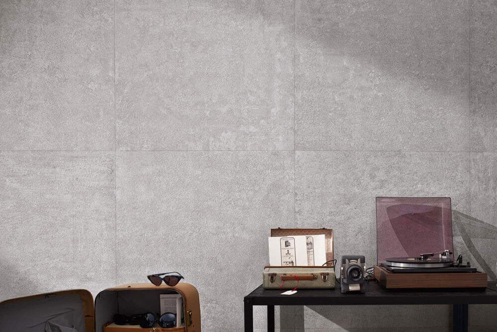 Vloertegels betonlook 90x90 cm - X-Beton Dot-50