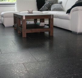 Graniet tegels - Steel Grey Graniet - Leather Finish