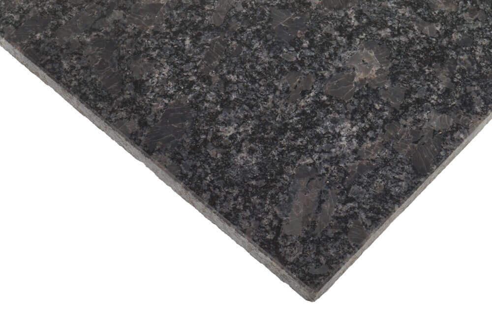 Wandtegels 40 cm - vrije lengte - Steel Grey Graniet - Gepolijst